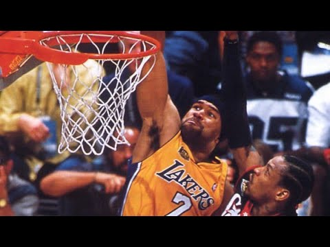 Derek Fisher has dunked three times in his NBA career, posterizing Allen Iverson and Shawn Bradley in two of them