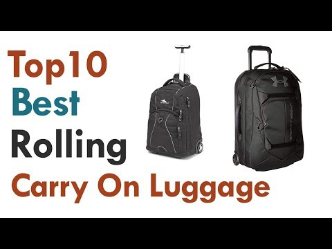Best Rolling Carry On Luggage || Top10  Best Rolling Carry On Luggage