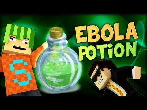 HOW TO CRAFT AN EBOLA POTION? (Minecraft 1vs1 Parkour Challenge)