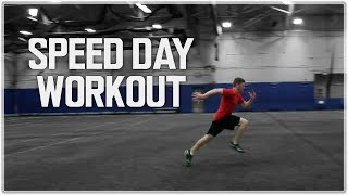 Speed Workout   How To Sprint FASTER w/ 1 Workout!   Speed Training