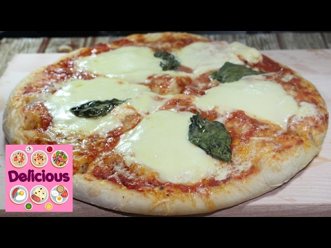 Homemade Delicious Margherita Pizza Recipe