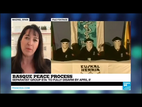 Spain: Basque separatist group ETA 'to fully disarm by April 8'