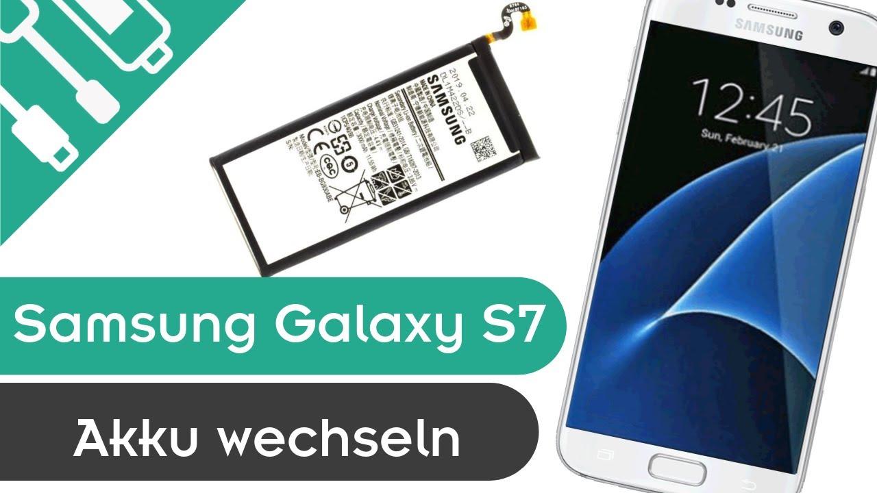 Samsung Galaxy S7 Akku Wechseln Anleitung Gunstige Diy Reparatur Hd Youtube