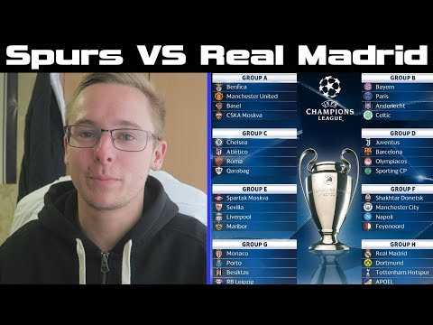 SPURS VS REAL MADRID/DORTMUND + APOEL! - CHAMPIONS LEAGUE GROUP STAGE REACTIONS 2017/18