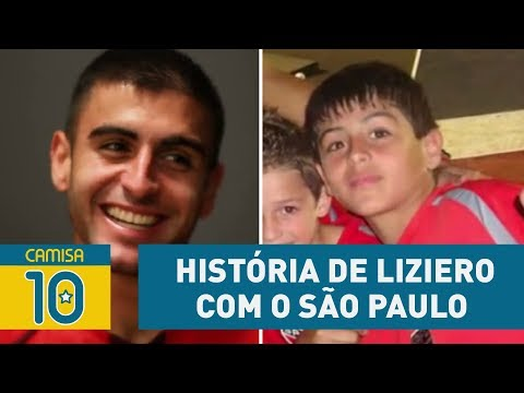 CONHEÇA A HISTÓRIA De LIZIERO Com O SÃO PAULO!
