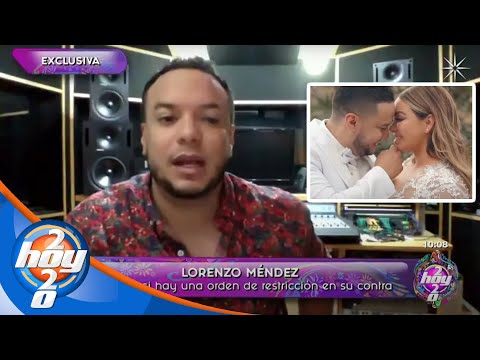 Lorenzo Méndez habla POR PRIMERA VEZ tras su SEPARACIÓN de Chiquis Rivera | Hoy