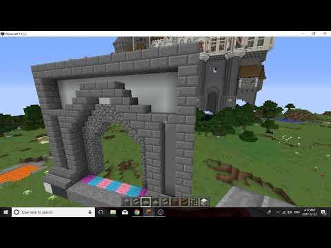 Minecraft Castle Door Designs