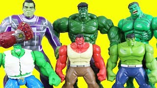 World's Biggest Just4fun290 Hulk Family Toy Collection Part 2