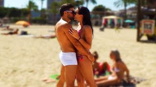 Kissing Prank - Hot Bikini Girl