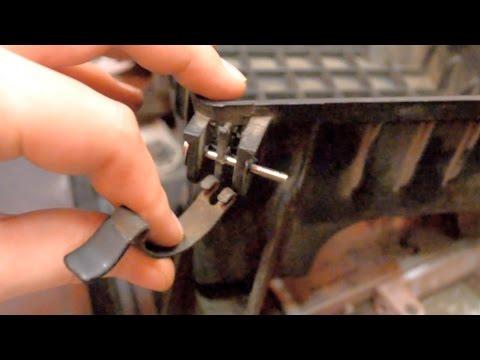 Ремонт крепления крышки короба воздушного фильтра Hyundai Accent