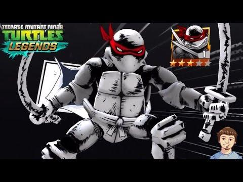 TMNT Legends - Comic Book LEONARDO (Original) Gameplay Overview!