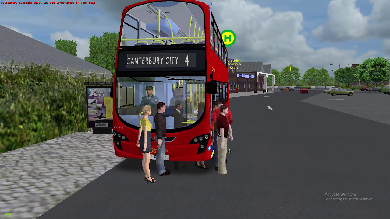 Omsi 2 Canterbury- 4 Herne Bay Station To Canterbury City Center (Without  Route Markers)  Jay Gaming7 49:57 HD