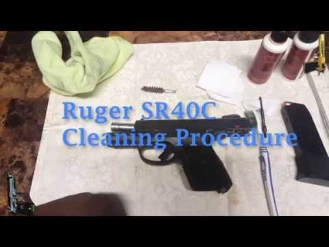 Ruger SR40C Cleaning Procedures | Lead 2 Rights