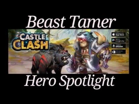 Castle Clash Beast Tamer Hero Spotlight
