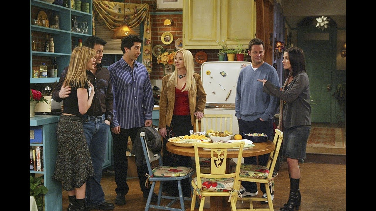 Friends Season 10 Episode 16 The One With Rachels Going Away Party