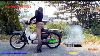 Charming Stockings in moped