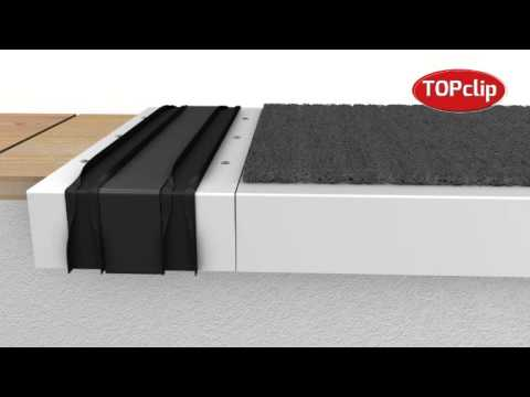 Topclip Parapet Capping Joint Installation Youtube
