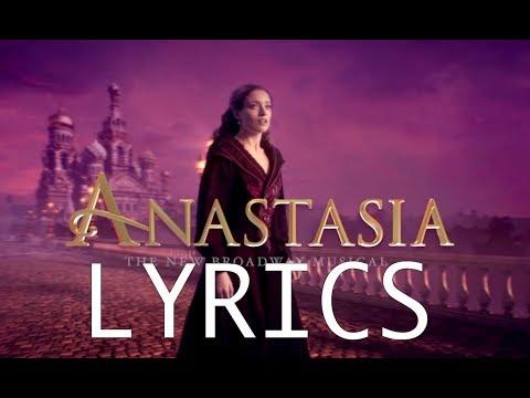 LYRICS - In a Crowd of Thousands - Anastasia Original Broadway CAST RECORDING