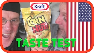 Kraft Corn Nuts | USA Taste Test