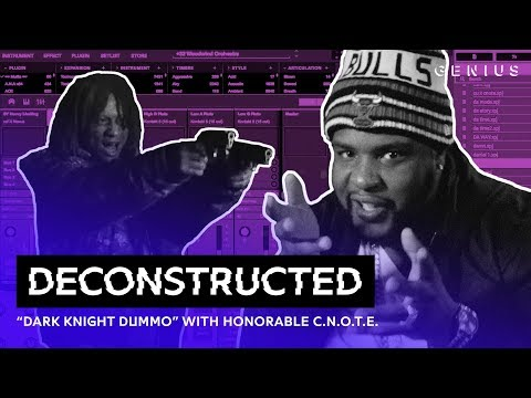"""The Making Of Trippie Redd's """"Dark Knight Dummo"""" With Honorable C.N.O.T.E. 