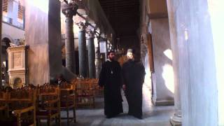 Thessaloniki, Greece - Agios Dimitrios(Saint Demetrius) Church - Travel Video PostCard