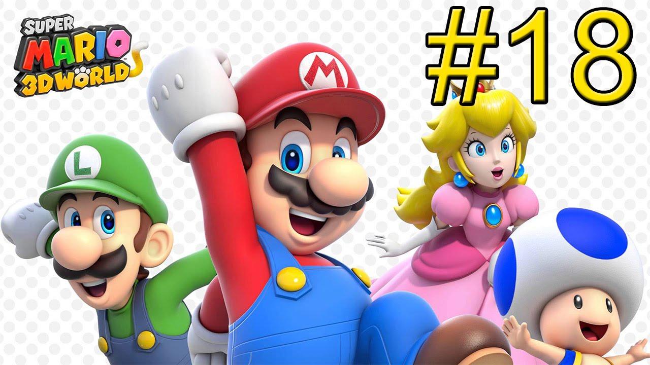 Mario u 18 Life Part Wii 3D Супер Бесконечный Мир | играть в супер марио путешествие на драконе