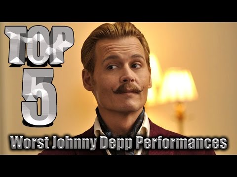 Top 5 Worst Johnny Depp Performances