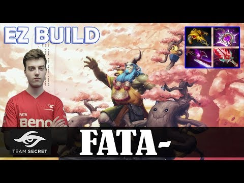 Fata - Nature's Prophet Offlane | EZ BUILD 7.11 Update Patch | Dota 2 Pro MMR Gameplay