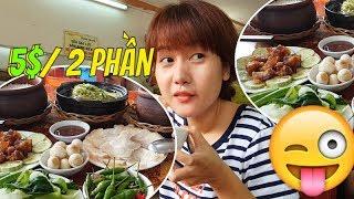 Ít ai ngờ 5$ mà no quá xá CƠM NIÊU 427 Nguyễn Tri Phương |  Guide Saigon Food