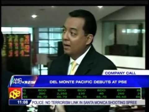 Del Monte Pacific debuts at PSE