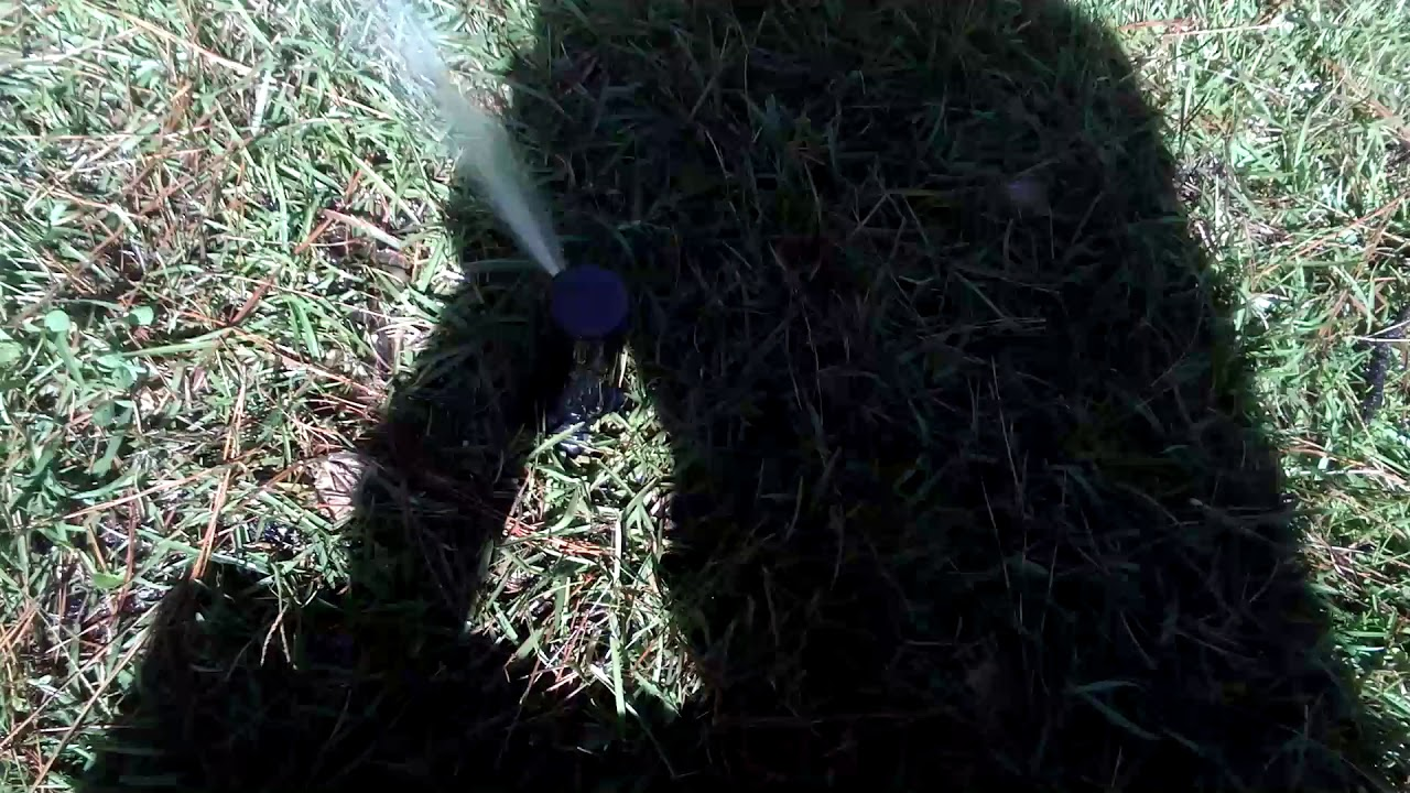 How To Adjust A Toro Sprinkler Head