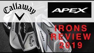 Callaway Apex Irons 2019 review Average Golfer