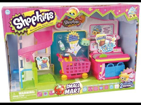 Shopkins Smart Mart Shopping With Avery and Heather