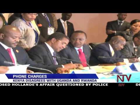 Kenya disagrees with Uganda and Rwanda over phone charges
