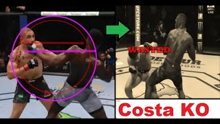 Savage Knockdown Explained, featuring Israel Adesanya (Defeats Paulo Costa)