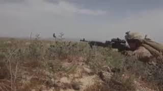 US Marines vs Afghan rebels - combat footage