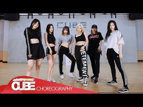 (여자)아이들((G)I-DLE) - 'Uh-Oh' (Choreography Practice Video)