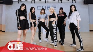 Смотреть клип (여자)아이들((G)I-Dle) - 'uh-Oh' (Choreography Practice Video)