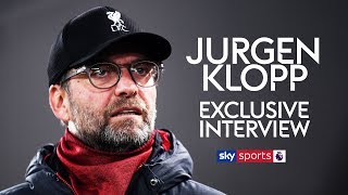 JURGEN KLOPP EXCLUSIVE INTERVIEW! | Liverpool boss previews crucial clash with Man City!