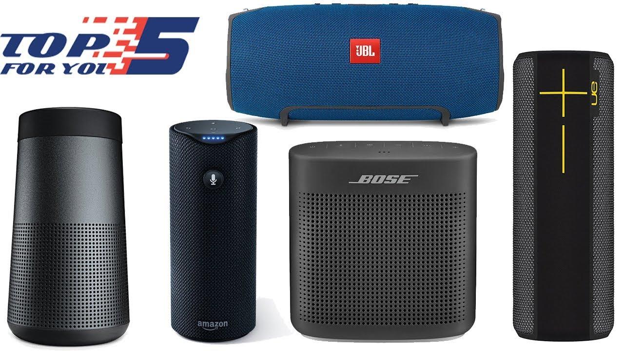 Top 5 Best Portable Bluetooth Speaker Under 200 Dollars Youtube