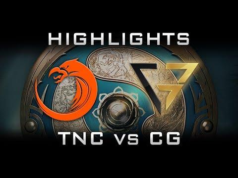 TNC vs CG Clutch Gamers TI7 The International 2017 SEA Highlights Dota 2