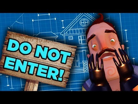 Thumbnail: The ABSURD Physics of Hello Neighbor's House | The SCIENCE!.. of Hello Neighbor