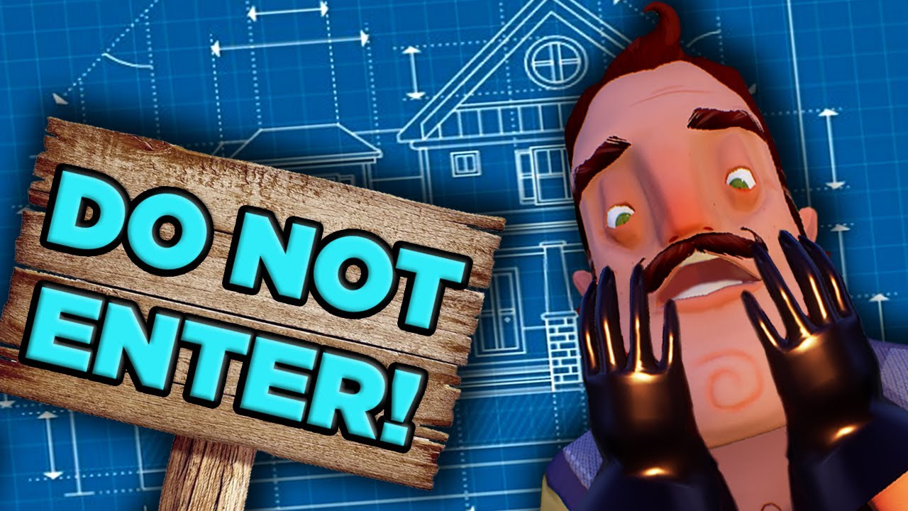 The ABSURD Physics of Hello Neighbor's House | The SCIENCE!.. of ...
