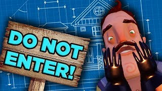 The ABSURD Physics of Hello Neighbor