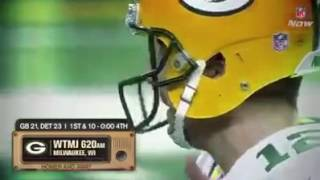 Packers & Lions radio announcers react to Aaron Rodgers Hail Mary