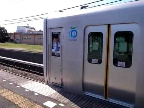 Train Arriving at Ogawa Station - (111004-1238)