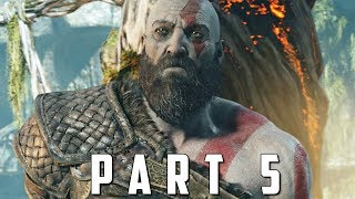 GOD OF WAR Walkthrough Gameplay Part 5 - BRENNA DAUDI BOSS (God of War 4)