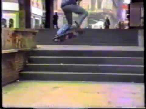 Skateboarding Belgrade - Serbia / 1991 -1992