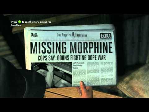 LA Noire - Homicide Desk Case 4 - 5 Star - The White Shoe Slaying - Part 2