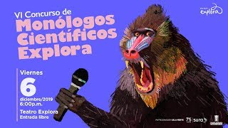 VI Concurso de monólogos científicos